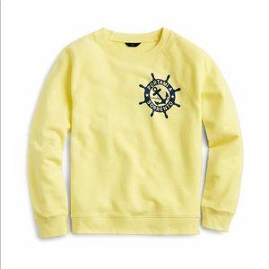J,crew long sweater
